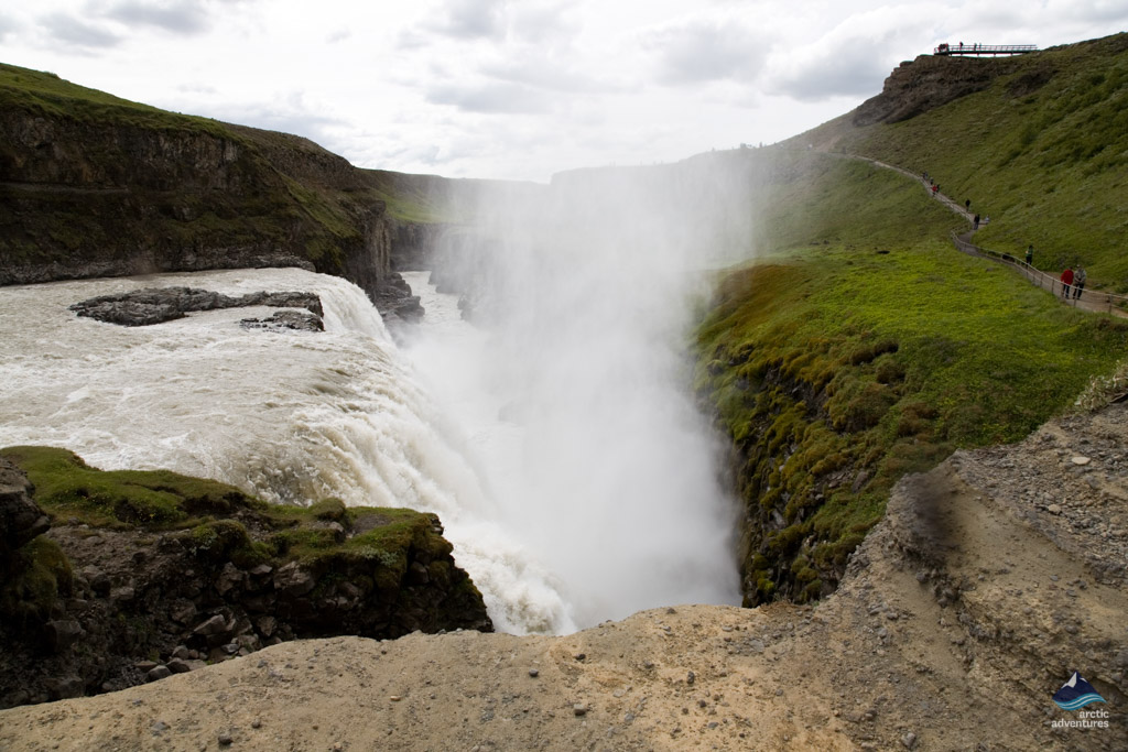 Gullfoss-waterfall-South Iceland