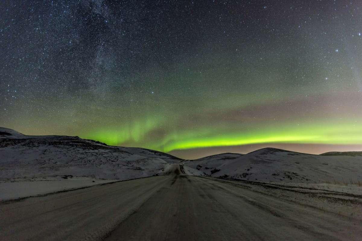 Norhtern lights Iceland
